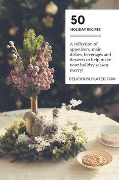 50 #holiday #glutenfree #recipes to make this holiday season a breeze! via @leslie9612