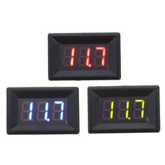 Only US$2.81, buy best DC 0-100V 0.36inch LED Car Auto Voltmeter Gauge Voltage Display Volt Panel Meter Monitor Voltmeter sale online store at wholesale price.US/EU warehouse. E Book Reader, Arduino, Esp8266 Wifi, 3d Printer Parts, 3d Printer Supplies, Display Panel, Led Diy, Professional Tools, Led Panel