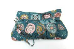 Wristlet Clutch Bag Wristlet Bag Wristlet Wallet by MintChocolat Cosmetic Pouch, Wristlet Wallet, Clutch Purse, Zipper Pouch, Ipod, Fabric Design, Purses, Bags, Etsy