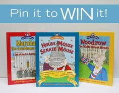 In the spirit of the upcoming Presidential election, 2 CP readers will win a three-pack of books from Little Patriot Press. Geared towards children 5-8 years old in grades K-4, Little Patriot Press teaches children about America's history and government through entertaining, educational, and interactive books. To enter, LIKE and REPIN this image! Two winners will be chosen at 5 PM today.
