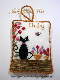 The World's Largest Collection of Smalls TOO: July Mini Cat Pillow