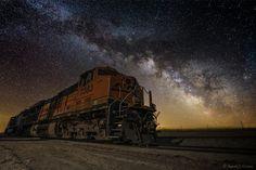 Night Train by Aaron J. Groen on 500px