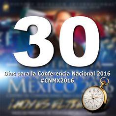 La Conferencia Nacional esta a la puerta! Solo 30 Dias mas! Animate y Registrate hoy en www.alcancevictoriamexico.org