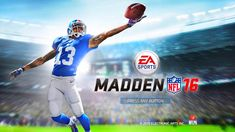 Madden NFL Mobile hack is finally here and its working on both iOS and Android platforms. Stephen Jackson, Real Hack, App Hack, Madden Nfl, Game Resources, Game Update, Free Cash, Test Card, Hack Tool