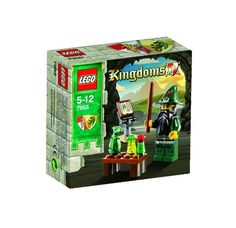 LEGO Kingdoms Mini Figure Set #7955 Wizard LEGO,http://www.amazon.com/dp/B00336EKP4/ref=cm_sw_r_pi_dp_6urttb0TBDBX6ZNP
