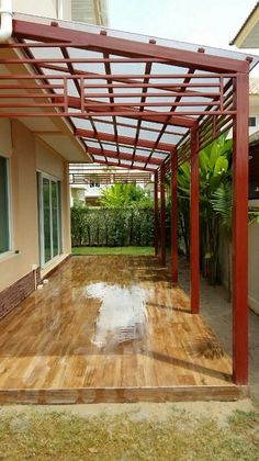 Ideas For Pergola Shade Diy Covered Patios Backyard Pergola, Pergola Shade, Pergola Plans, Pergola Kits, Pergola Ideas, Backyard Patio Designs, Pergola Designs, Patio Ideas, Roof Ideas