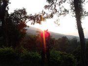 saat-saat indah sewaktu naik gunung