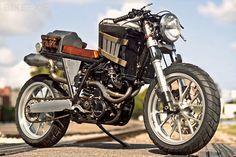 Steampunk KTM Custom Bike...