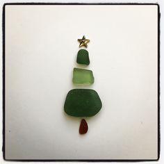 Christmas 🎄 Sea Glass, Unique, Beach, Christmas, Crafts, Jewelry, Yule, Xmas, Jewlery