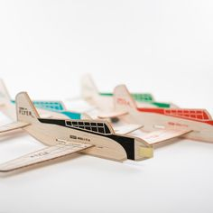My design inspiration: Turbo Flyer Set Of 4 Colors on Fab. Balsa Wood Models, Airplane Kids, Wooden Plane, Kids Birthday Party Invitations, Model Airplanes, Diy Craft Projects, Recycling Projects, Packaging Design, Product Packaging
