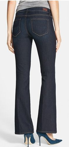 Love these bootcut jeans by Paige Denim @Nordstrom  http://rstyle.me/n/fdxujnyg6
