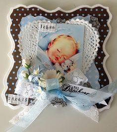 Inger Marie: Dåpskort og bordkort til gutt ♥