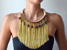 This article talks about Fringe jewellery which is the new trend for summers. Whether in soft, thin or coloured metals, pendants, earrings, bracelets this goes well with a with flowing dress, or any casual outfit.
