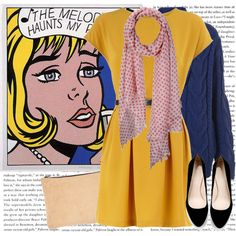 Polyvore  outfits inspired by art  Roy Lichtenstein