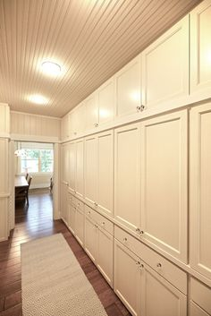 Wall of storage - MAC Custom Homes  ~ Click through to Houzz for a stunning large photo ~