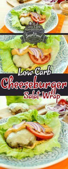 Low-Carb Cheeseburger Salat-Wrap. Du bist auf der Suche nach einem schnellen & einfachen Low-Carb Cheeseburger Rezept? Wie wäre es dann mit unserem leckeren Cheeseburger Salat-Wrap – Der Cheeseburger ganz ohne Brötchen. Dieses Low-Carb Rezept geht ganz einfach, schmeckt herrlich frisch und eine würzige selbstgemachte Soße ist auch noch dabei Wir wünschen dir viel Spaß beim Nachkochen, LG Andy & Diana. Für weitere Videos schau doch auf unserem YouTube-Channel vorbe