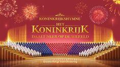 Christelijke koormuziek 'Koninkrijkshymne het koninkrijk daalt neer op d...