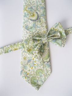 db6a83fc254c Light Blue Liberty of London Print Bow Tie custom by staghandmade, $38.00  Groomsmen Bowtie,