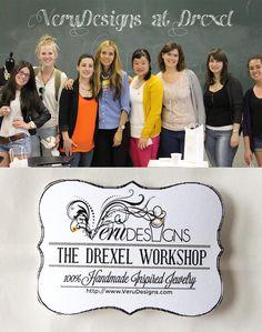Our Amazing Drexel Jewelry Workshop
