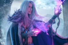 Check out this incredible Frost Lich Jaina cosplay   PC Gamer