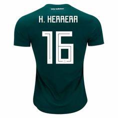 d6340522648 2018 World Cup Jersey Mexico Home Herrera Replica Green Shirt 2018 World  Cup Jersey Mexico Home Herrera Replica Green Shirt