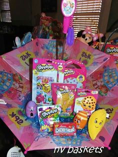 Shopkins Umbrella Easter gift
