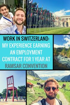 #WorkAbroad My Mexican friend Pablo earned a position to work in Switzerland 🇨🇭️ as an Assistant Advisor to the Americas Region at the Ramsar Convention Secretariat! Find all the application details on the blog #ramsar, united nations, employment contract, 1 year contract, switzerland, gland, swiss, nature conservation, ramsar convention, wetlands convention