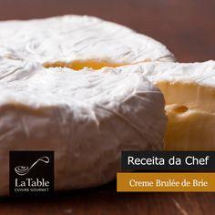 Receita da Chef – Creme Brulée de Brie