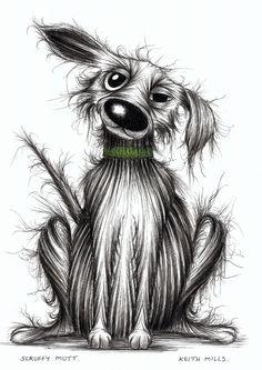 Scruffy mutt by Keith Mills.