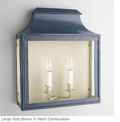 Roofed Passage Wall Lantern - Product WL 12