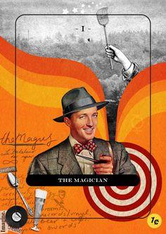 The Magician - Jordan Clarke's Tarot Deck - rozamira tarot - Picasa Web Albums