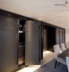 Contemporary Living - Bi Folding Doors from Herrington Gate