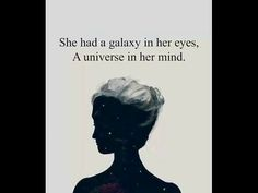 Universe, Mindfulness, Eyes, Fictional Characters, Woman, Cosmos, Fantasy Characters, The Universe, Bud