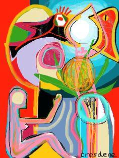 TR-394- Digital painting 40X30 cm Trosdene - 2015 www.trosdene.com