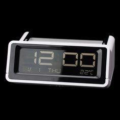 The calendar features clock, calendar and alarm clock! It is light weight, simple outlook design, and convenient, easy to use.   #calendar #thermometer #alarm