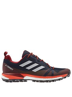 Adidas Terrex Skychaser Lt in Navy/Red Fall Over, Basic Style, Tie Knots, Gore Tex, Sock Shoes, Moving Forward, Belt Buckles, Latest Fashion, Thighs