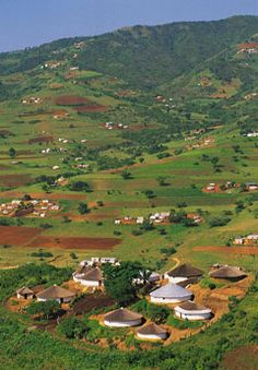 Valley of 1000 Hills, KwaZulu Natal, South Africa. Inspiration for the Thousand Hills line of Beloved Beadwork jewelry. Beautiful World, Beautiful Places, Kwazulu Natal, Out Of Africa, Africa Travel, Countries Of The World, Beautiful Landscapes, Land Scape, Places To Go