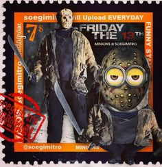 Jason Minion - Friday the 13th