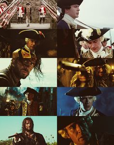 James Norrington, from the beginning of his story in CoTBP to the end of his life in AWE :'(