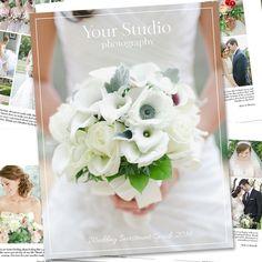 Wedding Photography Magazine Template - Digital Magazine - Studio Welcome Guide - Wedding Brochure for Photographers - WM01