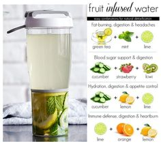 Fruit Infused Bottle: New from Pampered Chef! Get yours today! Pampered Chef shop now or join my team @ www. Infused Water Recipes, Fruit Infused Water, Infused Water Bottle, Infusion Bottle, Fruit Water, Pampered Chef Party, Pampered Chef Recipes, Pampered Chef Products, Healthy Eating Tips