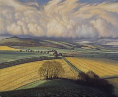 James Lynch : May 23rd Green Landscape, Landscape Art, Landscape Paintings, Landscape Sketch, Landscape Drawings, John Russell, Field Of Dreams, Cool Landscapes, Paisajes