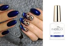Gel Polish Trendsetter + drapieżne zdobienie dzięki żelom Arte Brillante od Pauliny Chrościelewskiej :) Więcej inspiracji znajdziesz na www.indigo-nails.com #nailart #nails #indigo #gelpolish #navy #arte #brillante How To Cut Nails, Love Nails, Pretty Nails, Nail Drawing, Indigo Nails, Leopard Nails, Xmas Nails, Nail Patterns, Mani Pedi