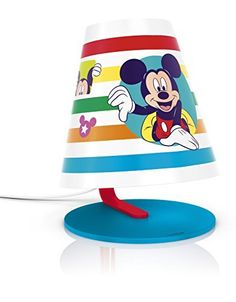 Philips Disney Mickey Mouse Children's LED Table Lamp