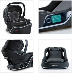 4 moms care seat. Installs itself. Checks before each ride.  Auto-tensioning & leveling.  Verifies correct base installation & carrier connection before each ride.