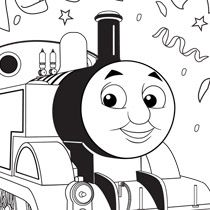 find this pin and more on 2 thomas train birthday party from birthday party decorations to coloring pages - Chuggington Wilson Coloring Pages