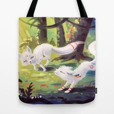 This is gorgeous. :: Follow Me Tote Bag by Freeminds