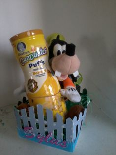 Birthday basket for 1 year old boy diy gifts pinterest easter basket for a 1 year old negle Images
