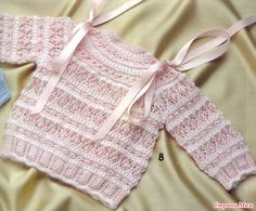 Привет, всем хорошего дня! Начинаем вязать вот такой свитерок. Вот результаты опроса Опрос на онлайн: вяжем нежный ажурный свитерок для девочки? Свяжем вместе эту красоту?