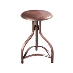 The gorgeous color on the Metallic Twist Stool gives it a unique flair and add to its vintage charm. Constructed from iron with an exposed screw for manual height adjustment, this stool is practical an...  Find the Metallic Twist Stool, as seen in the Rustic Farmhouse Style Collection at http://dotandbo.com/collections/rustic-farmhouse-style?utm_source=pinterest&utm_medium=organic&db_sku=97448